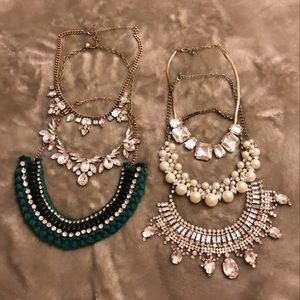 BOX OF STATEMENT NECKLACES FOR $35 !!!